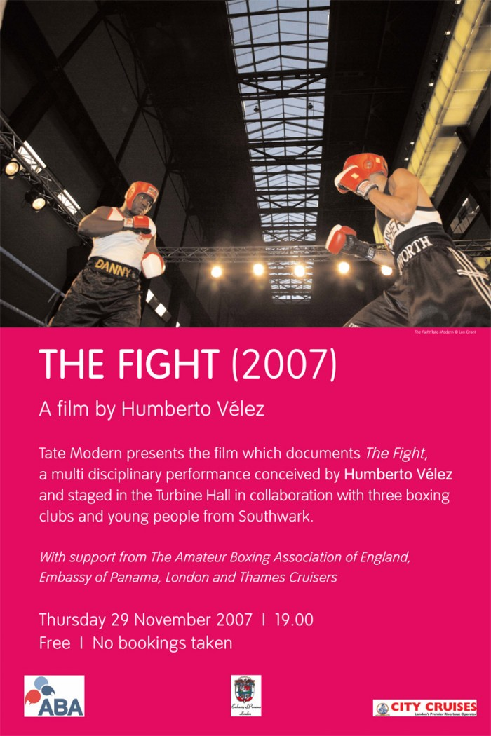The Fight film screening poster